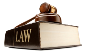 Gavel on Lawbook