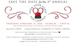 save the date open your purse for change