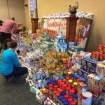 Image of donated grocery items